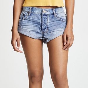 One Teaspoon Bandit Denim Shorts